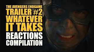 Download Avengers Endgame Trailer #2 WHATEVER IT TAKES Reactions Compilation Video