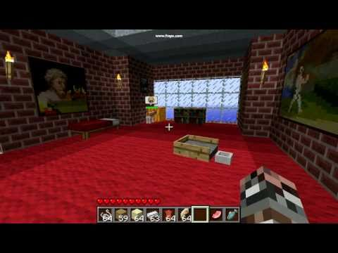 30 Second Minecraft: Crafting Mo-Creatures Kitty Bed