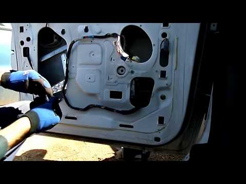 Ford Windstar Window Motor Regulator Removal