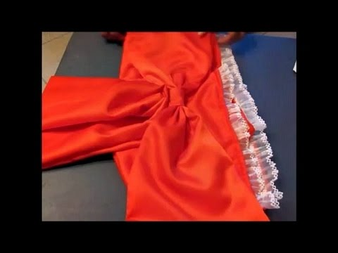 DIY: How to make Kimono/Yukata Belt and Bow [Cosplay]