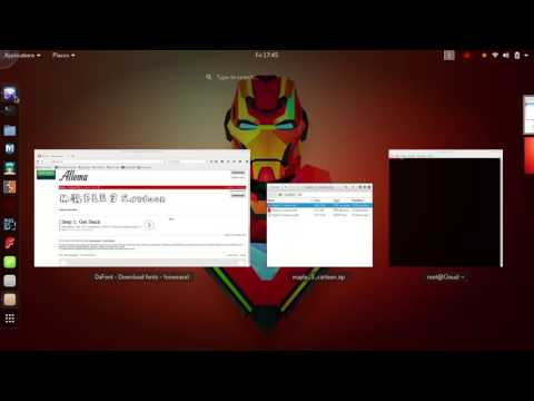 How to change font in (Kali Linux)