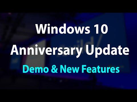 Windows 10 Anniversary Update- Demo & New Features