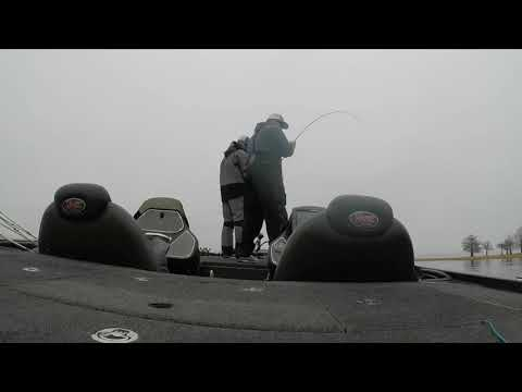 Catching an 8XD on Toledo Bend