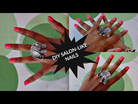 DIY Salon-Like Nails In Under 10 Minutes |  imPRESS NAILS (College Budget Friendly)