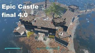Fallout 4 Settlement Building : The Castle Version 1 0 - PakVim net
