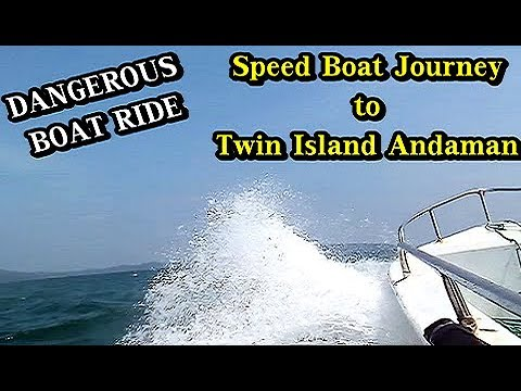 Boat Journey to Ross & Smith Island Andaman | Diglipur Jetty to Twin Islands Andaman Boat Ride