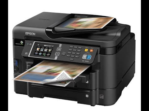 How to replace the ink cartridge  on Epson WF 3640 Printer