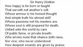 The character of a happy life poem explanation mt4 binary options template