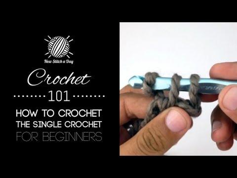 Crochet 101: How to Crochet the Single Crochet for Beginners