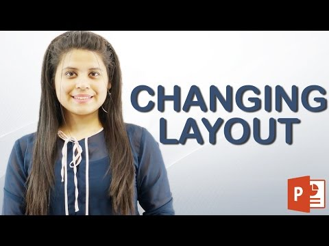 How to Change Slide Layout in PowerPoint | Hindi Tutorial || Chapter 3 | Video 2