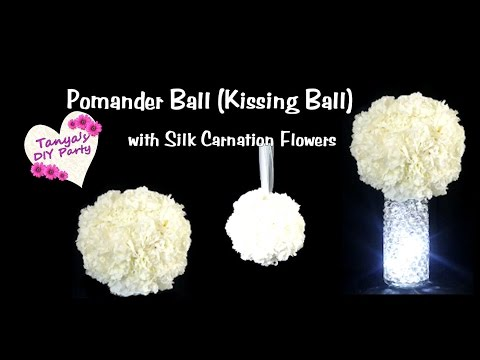 DIY Pomander Ball (Kissing Ball) - Tutorial