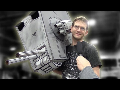 Make your own Star Wars Imperial Walker Costume AT-ST