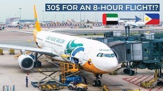 TRIPREPORT | Cebu Pacific (ECONOMY) | Airbus A330-300 | Dubai - Manila