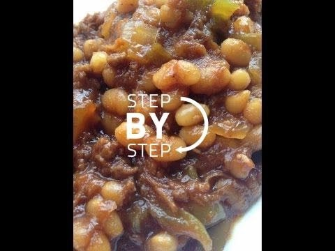 Cowboy Beans! Homemade Baked Beans, Cowboy Baked Beans Recipe, How to make Cowboy Beans
