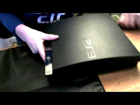 How to:Clean Your Ps3 From Dust without Opening Your Console!