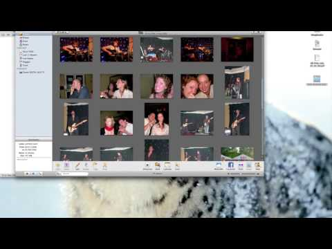 iPhoto basic tutorial.  Learn how to import your pictures and other simple tricks