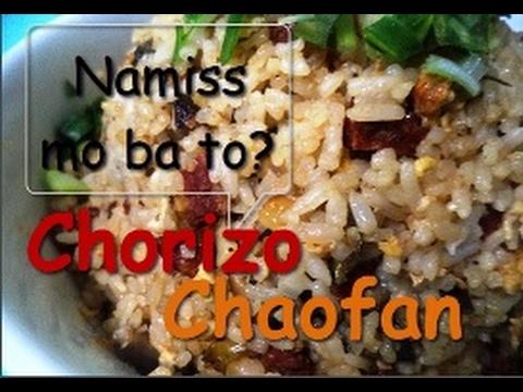 Chowking's Style Chorizo Chaofan