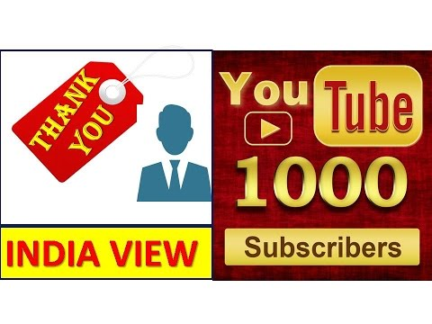 THANK YOU 1000 SUBSCRIBERS    WITHOUT YOU IT WASN'T POSSIBLE    THIS IS YOUR VICTORY