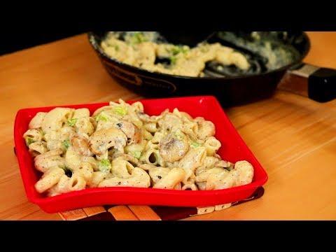 Creamy Mushroom Pasta | Kitchen Time with Neha