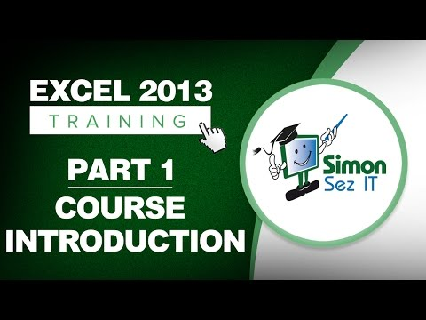 Excel 2013 for Beginners Part 1: An Introduction to Using Excel 2013