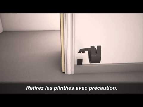 Vidéo d'installation - Carreaux de vinile emboîtable par rabattement
