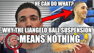 Why the LiAngelo Ball UCLA Suspension Means NOTHING
