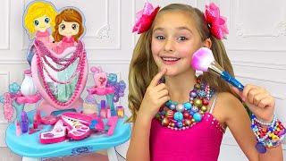 Sasha and her new princess room