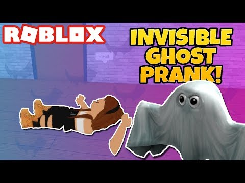 INVISIBLE Ghost PRANK in Roblox