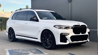 BMW X7 Wrapped Frozen White, Viewer Survives 2 Heart Transplants!