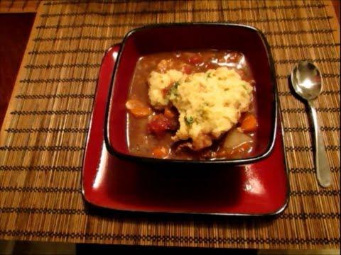 Slow Cooker Sunday: Jen's Beef Stew and Gluten Free Dumplings