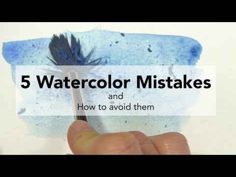 5 Watercolor Mistakes and How to Fix Them