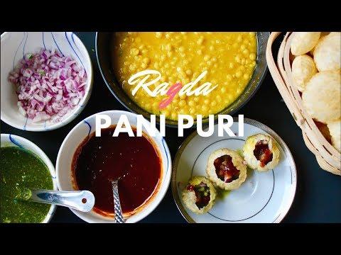 RAGDA PANI PURI/ GOLGAPPA (INSTANT POT) -EPISODE 6