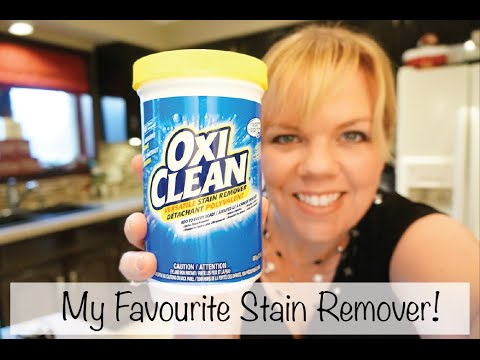 OxiClean Versatile Stain Remover is one of my favourite cleaning products!