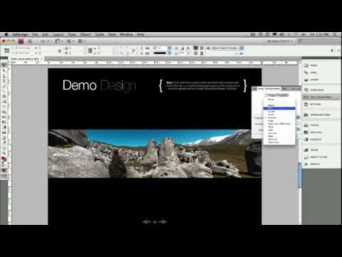 Interactive InDesign PDF & SWF (No. 57)