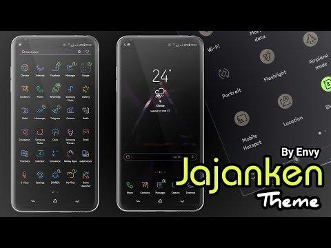 Jajanken Theme By Envy | Samsung Theme
