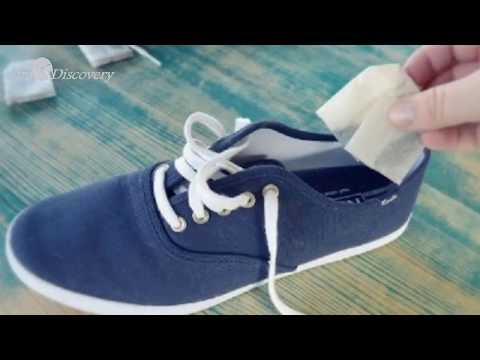 Eeasy Ways to stop the smell of shoes...Amazing Ways