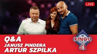 "Q&a - Artur Szpilka I Janusz Pindera   🥊 ""w Ringu"" Etoto Tv"