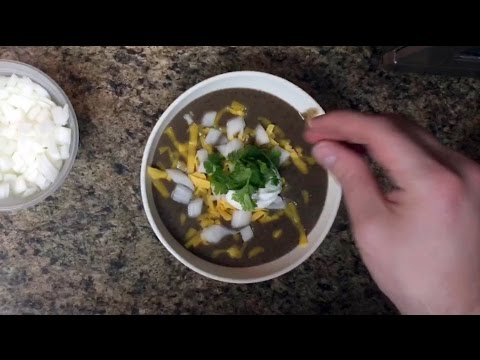 First Person Chef - EP004: Mexican Black Bean Soup