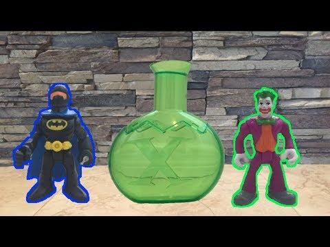 The Joker CAPTURES Batman in a Chemical X Bottle!