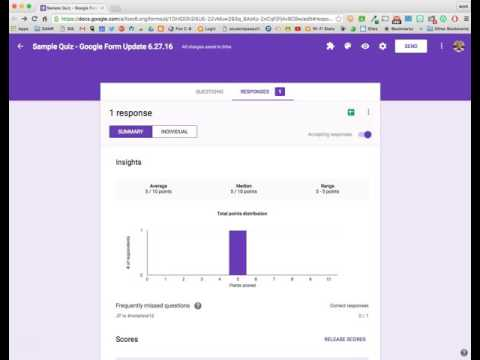 Quizzes are now Baked Into Google Forms!