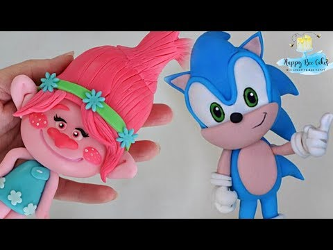 Fondant cake toppers compilation | How to make cake toppers!