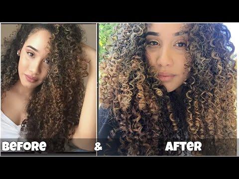 How to Define & Tighten Curl Pattern!