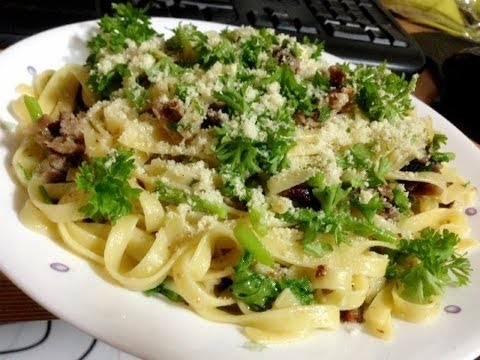 Pasta with left over Duck Meat Recipe