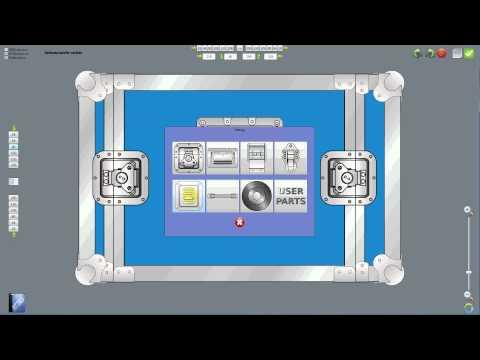 Flightcase-construction with the Penn Elcom CaseDesigner - English.mp4