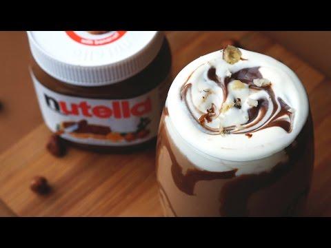 Nutella Milkshake - 3 Ingredient  - Treat Factory