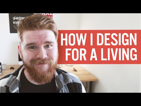 How I Make a Living as a Freelance Graphic Designer