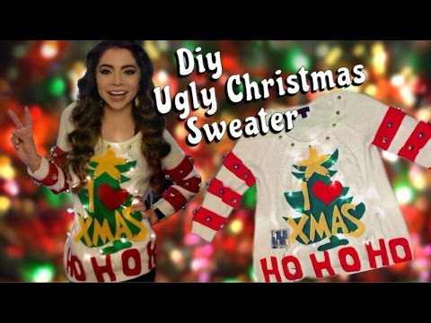 DIY Ugly Christmas Sweater | Mikayla Snow