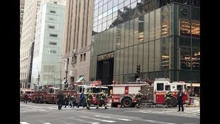 🔴Fire at Trump Tower - LIVE BREAKING NEWS COVERAGE