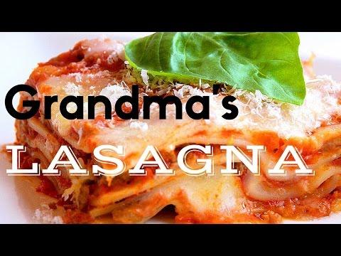 Grandma's Cheesy Lasagna