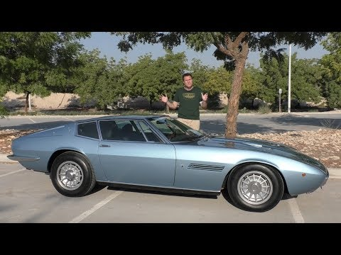 The Original Maserati Ghibli Proves Maserati Was Once Great